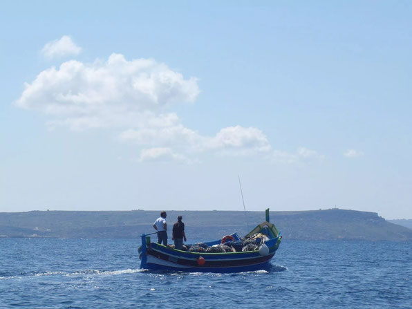 boats Gozo, Malta