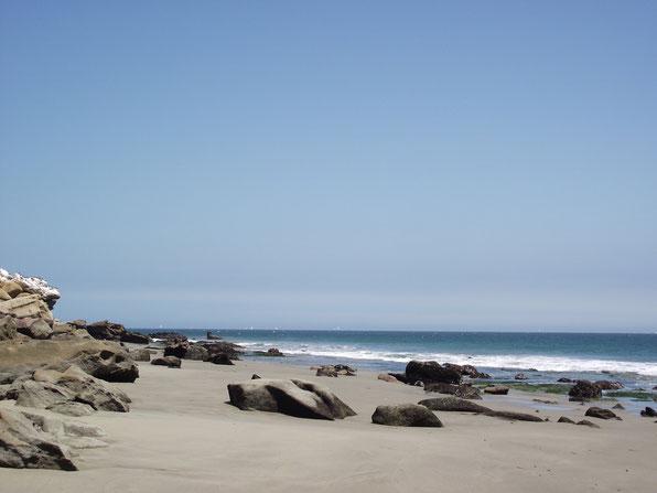 beach, Cabo Blanco, Peru