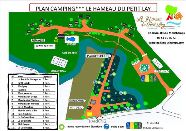 Plan camping mouchamps