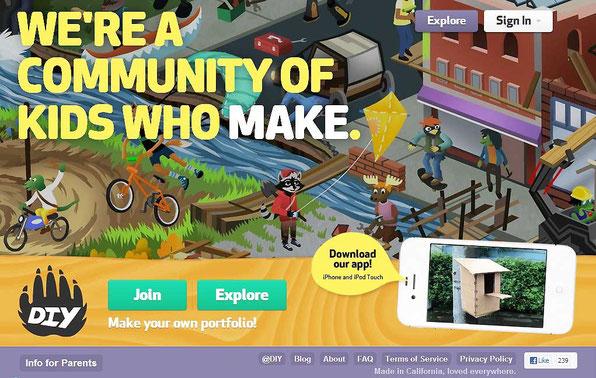 Мультицветный дизайн сайта