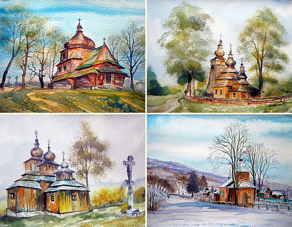 Cerkwie - Cztery Pory Roku