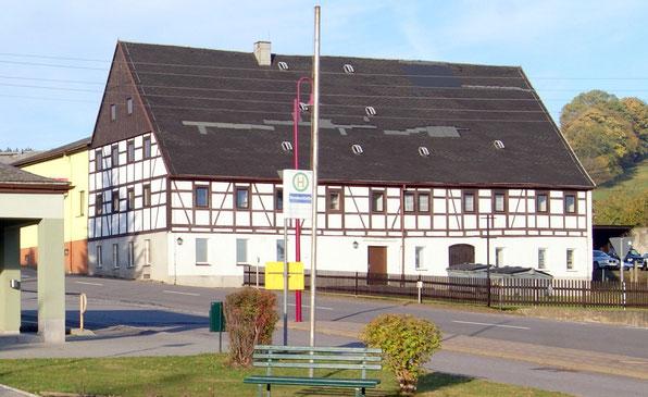 Bild: Teichler Gasthof Wünschendorf Erzgebirge 2012