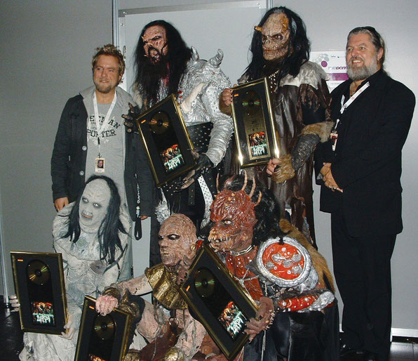 "Lordi, Goldverleihung ""Hard Rock Hallelujah"", 2006"