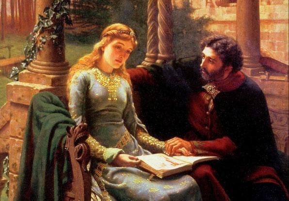 "E. B. Leighton, ""Abelardo e Eloisa"""