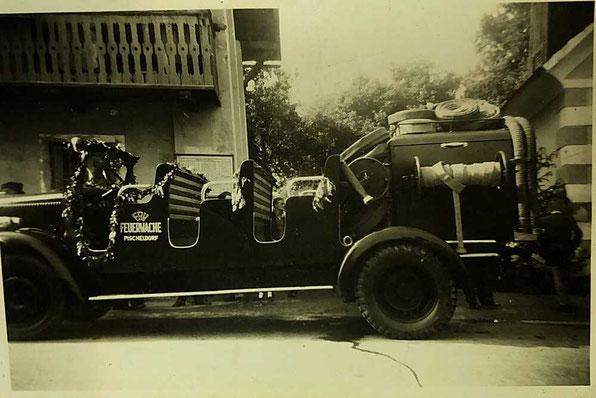 Rüstwagen Feuerwehr Pischeldorf
