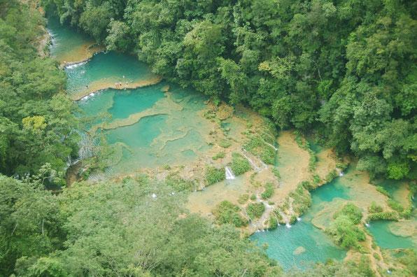 Die Terrassen von Semuc Champay, GUATEMALA