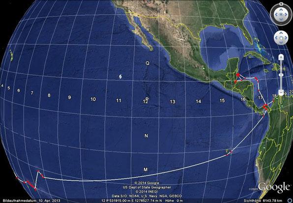 Galapagos ( M15 )     Marquesas ( L7 )    Tuamotus ( K6 )