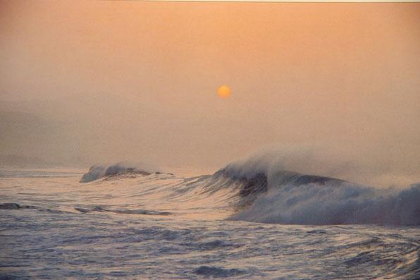 Wind ist gut zum Segeln - erzeugt jedoch auch Seegang.  Gut wenn man geschützt liegt