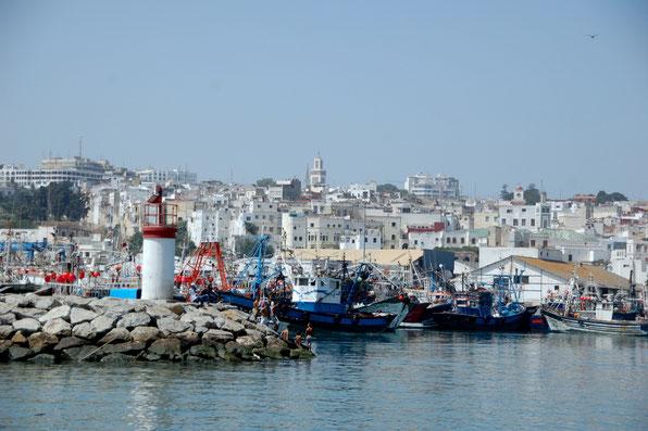 Fischereihafen Tanger   August 2011