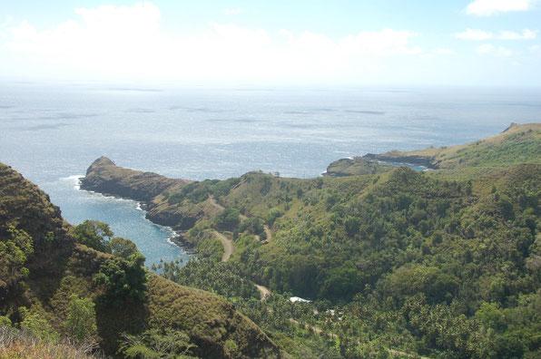 Buchten auf der Nordseite von Hiva Oa