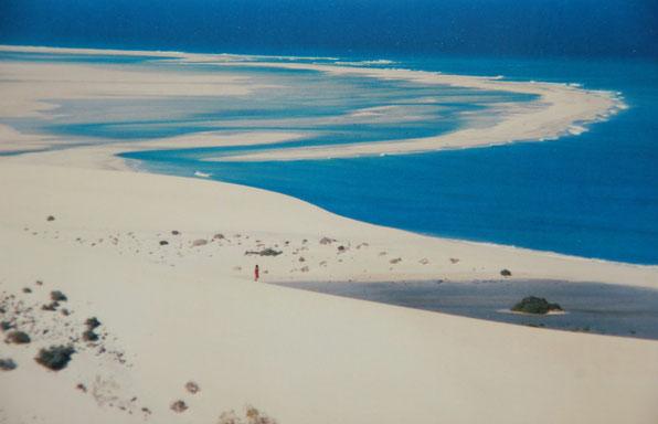 Paradies für Windsurfer, Strände im Südosten Fuerteventuras