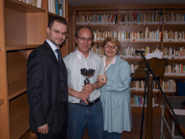 Augusto Petito, Massimo De Mellis e Maria Pia De Martino