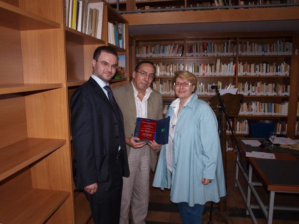 Augusto Petito, Claudio Prili e Maria Pia De Martino