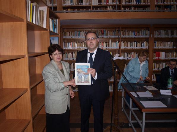 Carmela Parlato e Angelo Cocozza
