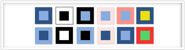 efectividad de los colores