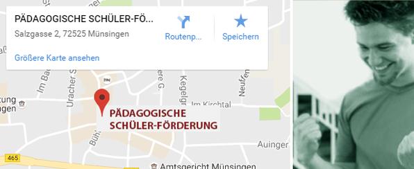 Pädagogische Schülerförderung Standort Münsingen