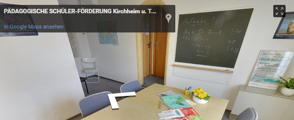 Pädagogische Schülerförderung Standort Kirchheim unter Teck