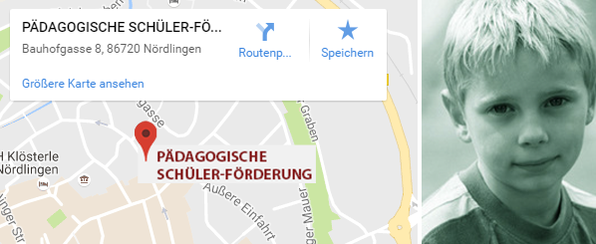 Pädagogische Schülerförderung Standort Nördlingen
