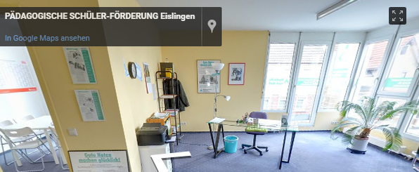 Pädagogische Schülerförderung Standort Eislingen