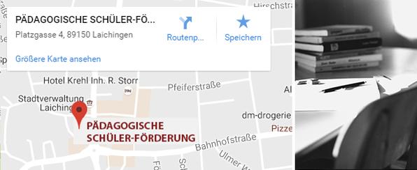 Pädagogische Schülerförderung Standort Laichingen