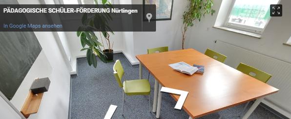 Pädagogische Schülerförderung Standort Nürtingen