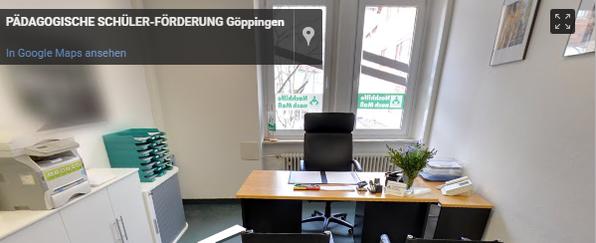 Pädagogische Schülerförderung Standort Göppingen