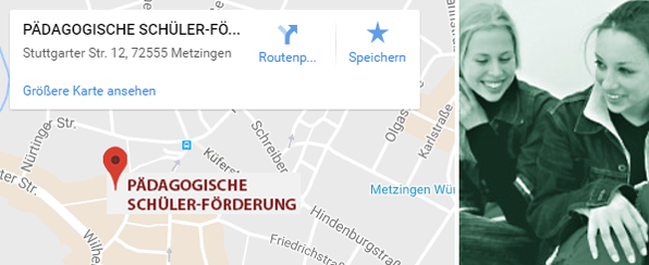 Pädagogische Schülerförderung Standort Metzingen