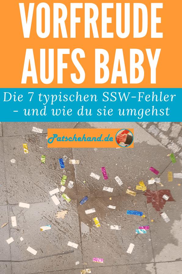 Die 7 typischen Fehler während der Schwangerschaft -und wie du sie umgehst auf Mama-Blog Patschehand.de!