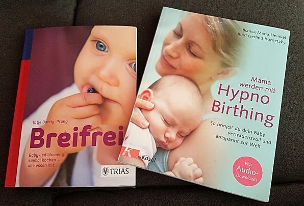 Hypnobirthing;Bücher; Empfehlung; Baby; Ratgeber; Mama-Blog; patschehand