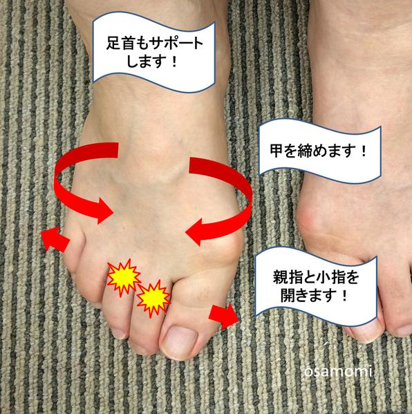 足指の痛み・痺れは、昭島市の足・膝専門のオサモミ整体院