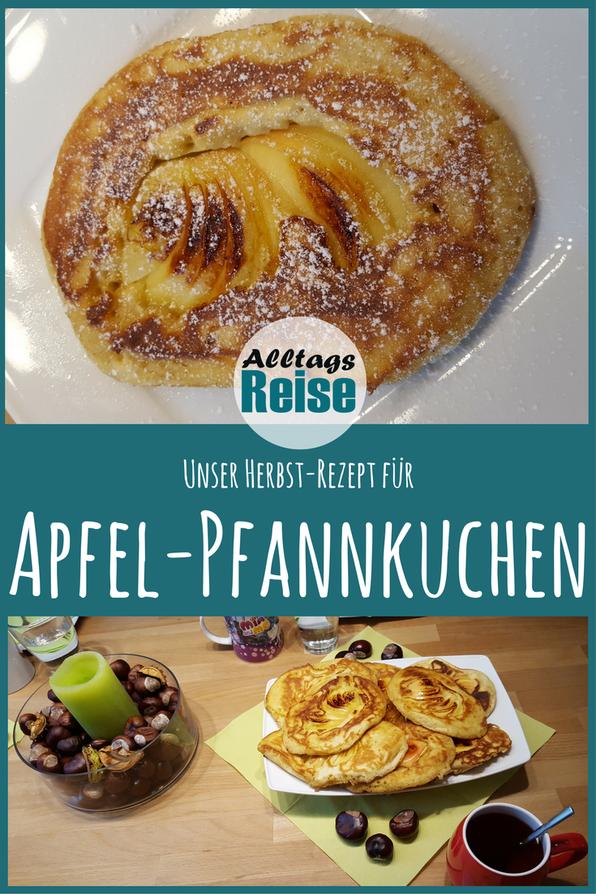 Herbstliche Apfel-Pfannkuchen