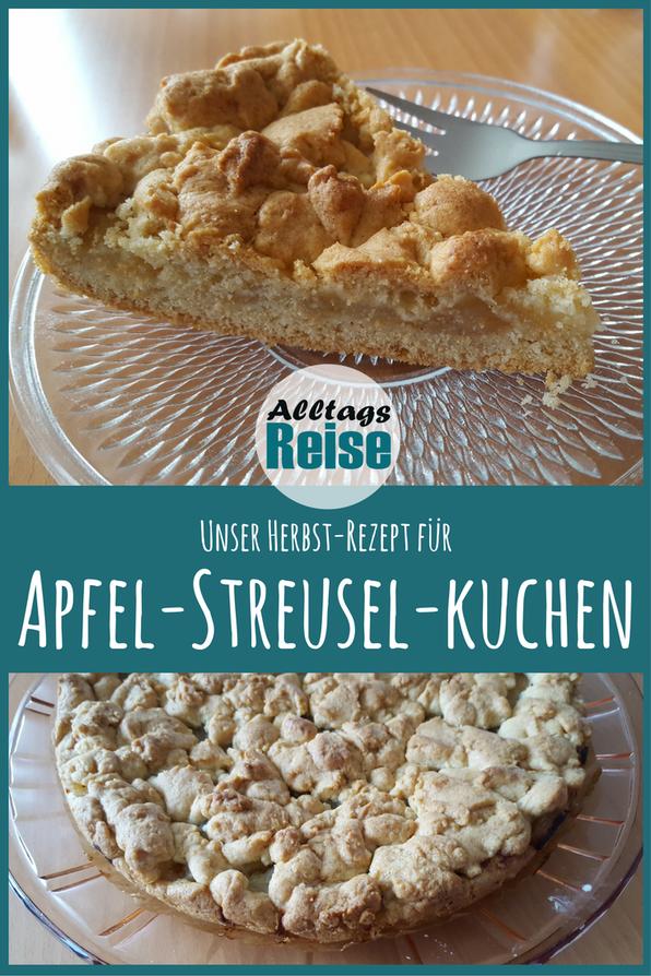 Herbstzeit ist Apfelzeit: Leckerer Apfel-Streusel-Kuchen