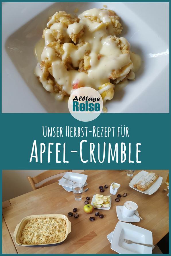 Rezept für leckeres Apfel-Crumble