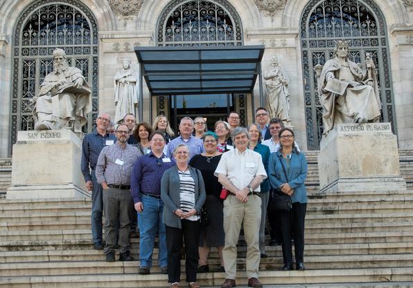 """Gruppenfoto des RSC Plus aus Madrid, veröffentlicht im """"Outcomes""""-Dokument"""