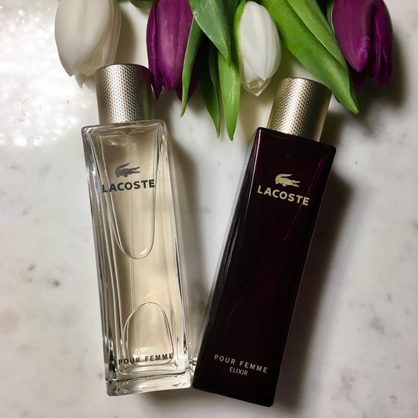 official photos 48b8c e770e Lacoste - Die Düfte Pour Femme und Pour Femme Elixir im ...