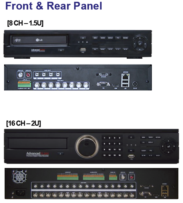 HD-SDI DVR 写真