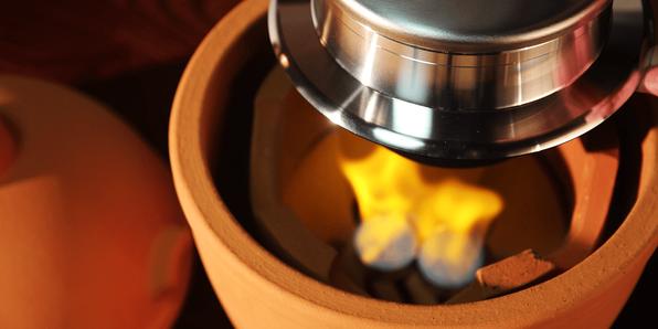 小田式ミニ蒸しかまどの炊飯ポイント