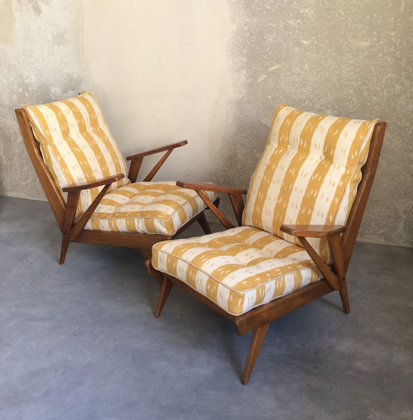 Free Span, FS141, fauteuil vintage, fauteuil 50's, fauteuil FreeSpan 141