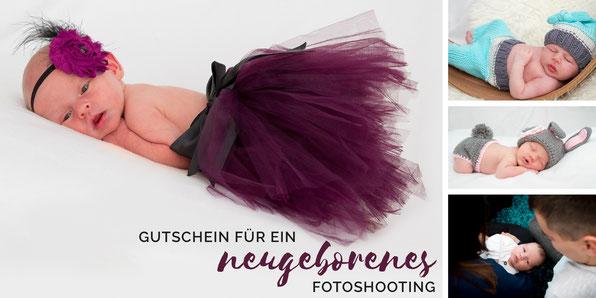 Gutschein für ein Neugeborenenshooting in Leipzig
