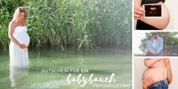 Gutschein für ein Babybauchshooting in Leipzig
