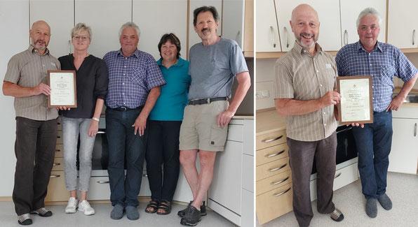 (Bild: privat) Bild von links: Andi, Renate, Willi, Irmi, Franz (Elterninitiative)
