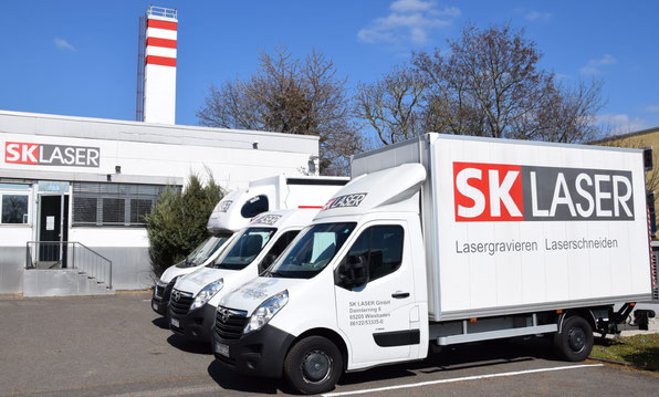 Zentrale von SK LASER  in Wiesbaden