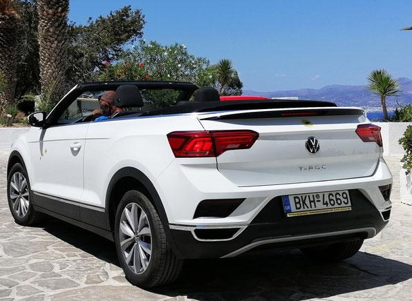 VW-T-ROC  Cabrio Automatic