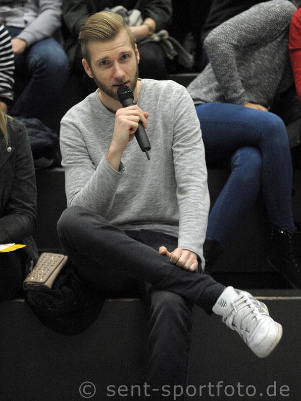Christian Hupe; neuer Hallensprecher des TV Jahn Duderstadt
