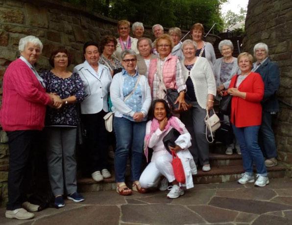 kfd-Besuchergruppe im Karmelitinnenkloster in Witten