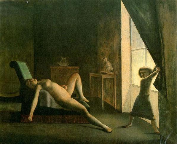《部屋》1953年