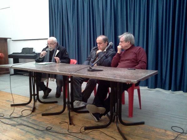 discorso inaugurale del nuovo Costarena PARDO MARIANI IL RAPPRESENTANTE DEL COMUNE DI BOLOGNA e GRAZIANO FERRARI