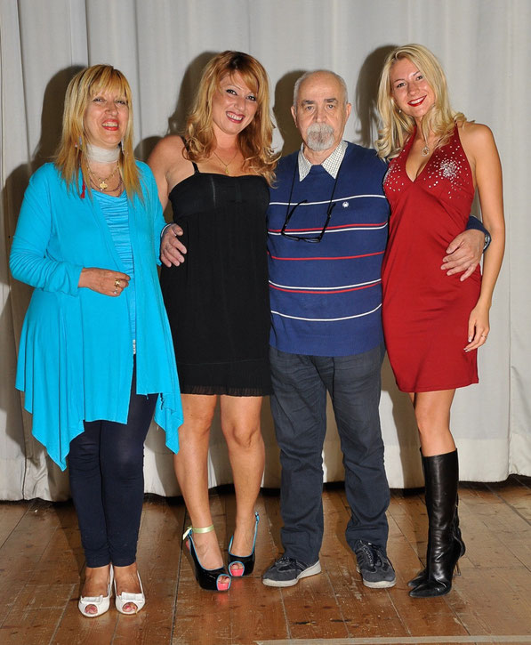 Lia Delli Gatti,Maena Palumbo,Pardo Marini e Cristina Cremonini
