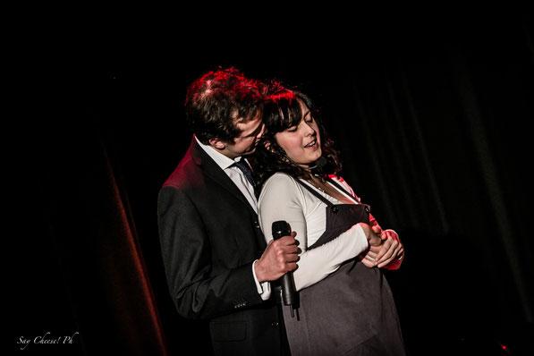 l'Anello dell'Amore - teatro Alemanni Alessandra Mariani e Luca Mazzamurro nel canto all'amore musiche di Sergio Fanti