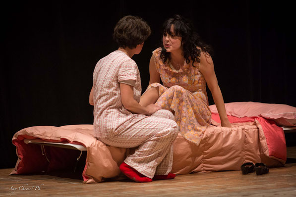 l'Anello dell'Amore Alessandra e Carlotta- teatro Alemanni